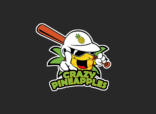 """CRAZY PINEAPPLES"" SLO-PITCH"