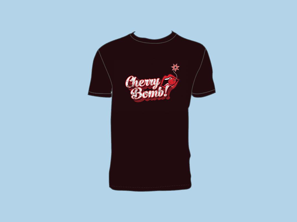 CHERRY BOMB T-SHIRT GRAPHIC