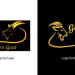Golden Goat Old vs New Logo