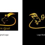 Golden Goat Old vs New Logo